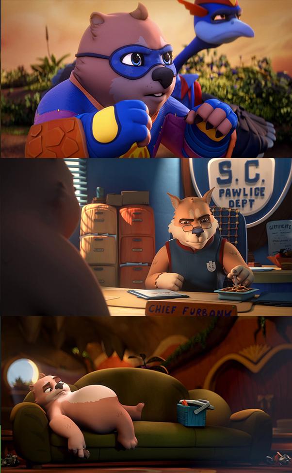 Combat Wombat (2020) HD 1080p y 720p Latino Dual