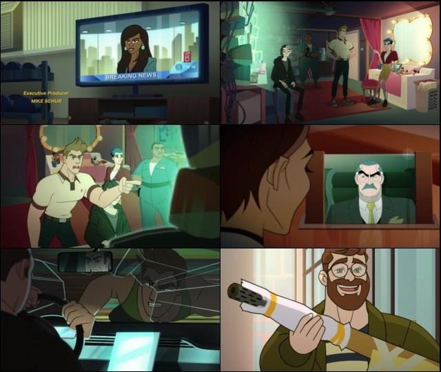 Q-Force Temporada 1 Completa (2021) HD 1080p Latino Dual