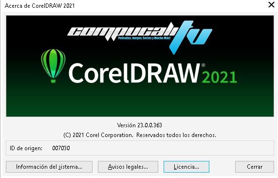 CorelDRAW Graphics Suite 2021 Versión Full Español