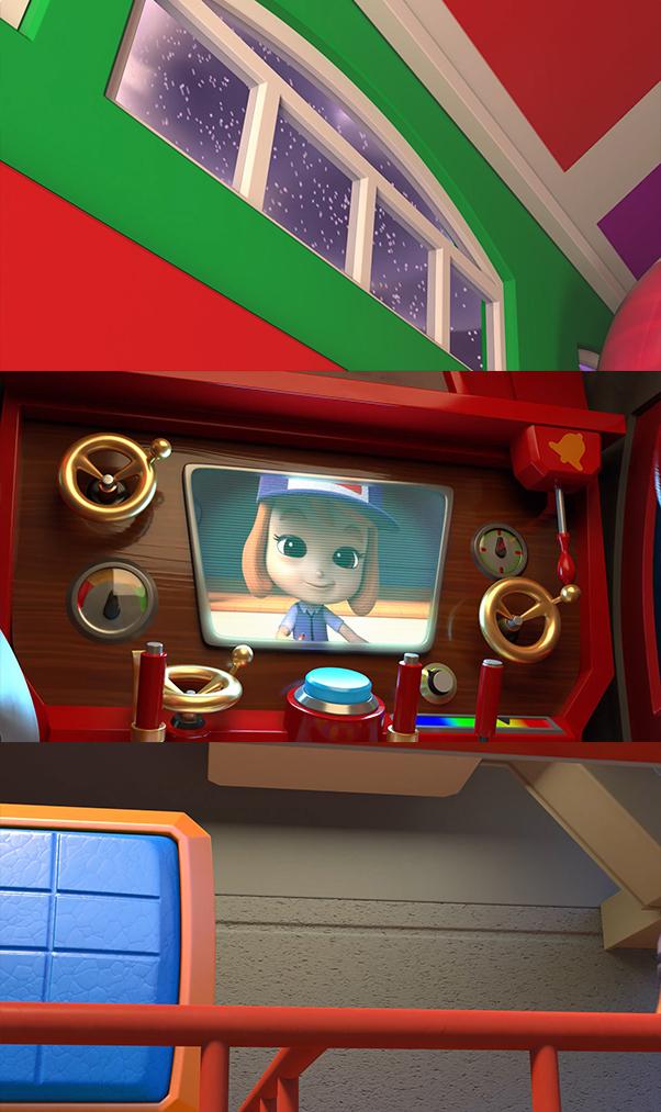 Mighty Express: Una aventura navideña (2020) HD 1080p Latino Dual
