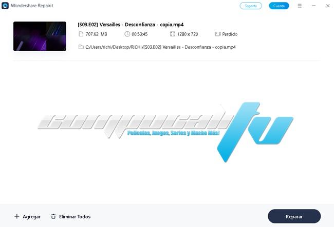 Wondershare Repairit Versión Full Español