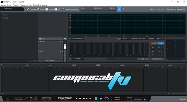 PreSonus Studio One Pro Version 5 Full Español