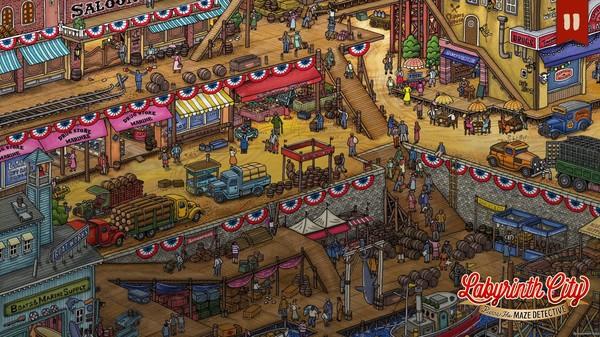 Labyrinth City: Pierre the Maze Detective (2021) PC Full Español