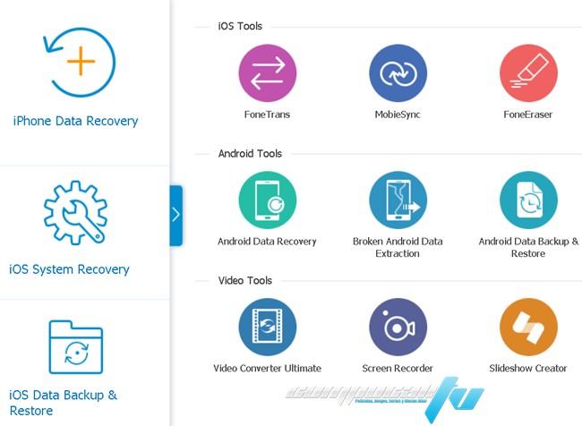 Aiseesoft FoneLab iPhone Data Recovery Versión Full